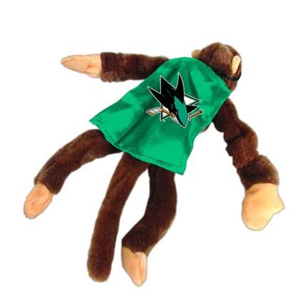 San Jose Sharks Flying Monkey Stuffed Animal Set Of 2