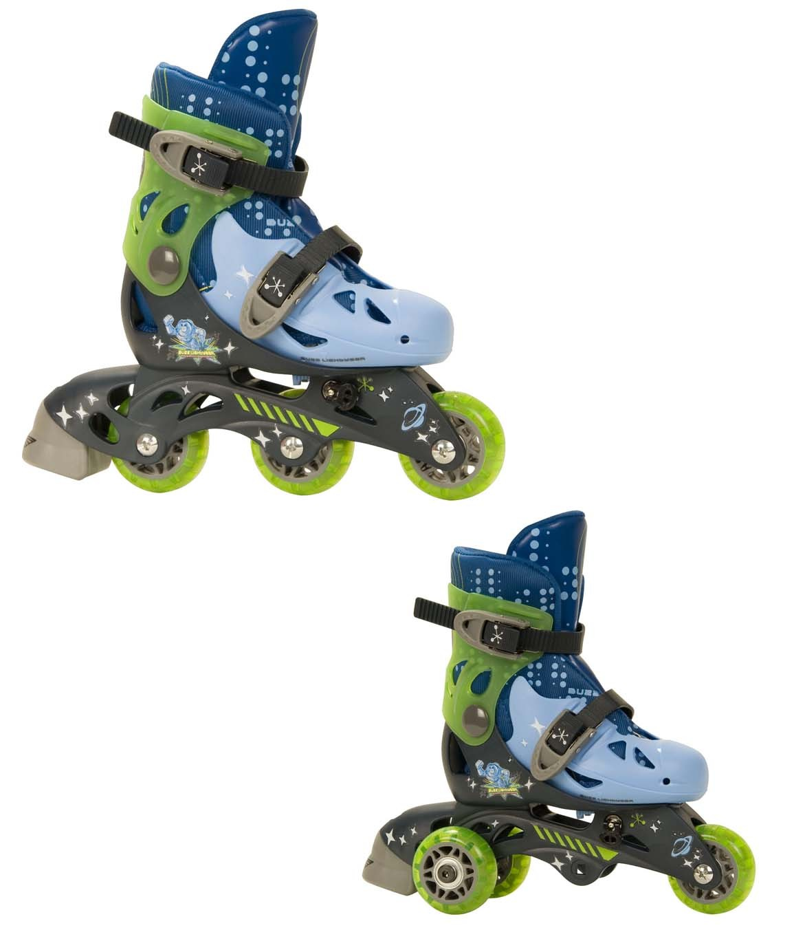 Rollerblades And Toys : Toy story convertible roller skates size j