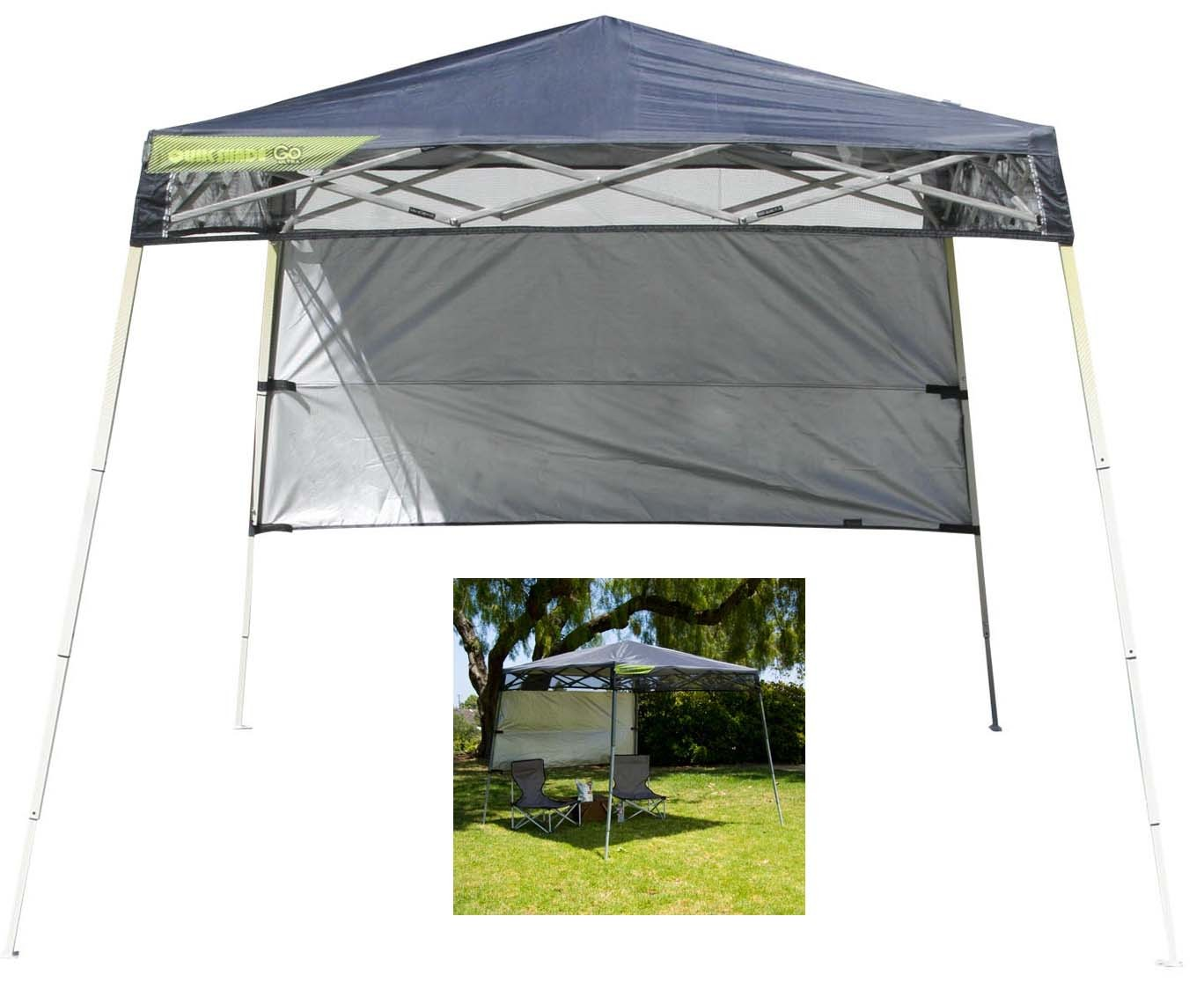 "7'2"" x 7'2"" Quik Shade Go Ultra Backpack Instant Canopy"