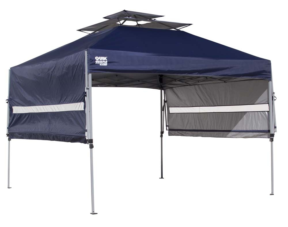 Quick Overview  sc 1 st  Online Sports & Quik Shade Summit S170 10u0027 x 10u0027 Instant Canopy / Tent with Awning ...