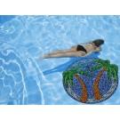 Large 4 Foot Pool Art - Palm Tree