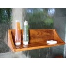 Teak Suction Shelf