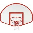 Fan-Shaped Fiberglass Basketball Backboard from Spalding by