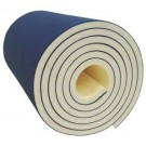 "6' x 42' x 1 1/2"" TriLam Foam Bonded Floor Exercise Carpet from American Athletic"
