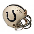 Joseph Addai Indianapolis Colts Autographed Pro Line Helmet by