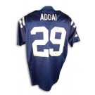 Joseph Addai Indianapolis Colts Autographed Authentic Reebok NFL Football Jersey (Blue) by