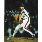 "Rick Aguilera New York Mets Autographed 8"" x 10"" Unframed Photograph Inscribed with ""86 WS Champs"""