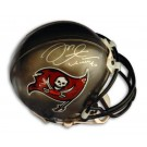 "Mike Alstott Autographed Tampa Bay Buccaneers Riddell Mini Helmet Inscribed with ""#40"""