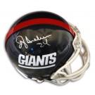 "Ottis ""OJ"" Anderson Autographed New York Giants Riddell Mini Helmet"