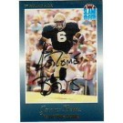 Jerome Bettis Notre Dame Fighting Irish Autographed Slam Football Promo Card (Running in... by