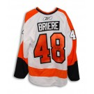 Danny Briere Philadelphia Flyers Autographed Authentic Reebok NHL Hockey Jersey (White) by