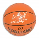 "Charles Oakley New York Knicks Autographed Indoor / Outdoor Basketball Inscribed ""93-94 East Champ"""