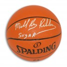 "Michael Ray Richardson New York Knicks Autographed Indoor / Outdoor Basketball Inscribed ""Sugar"""