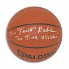 "Leonard ""Truck"" Robinson New York Knicks Autographed Indoor / Outdoor Basketball Inscribed ""Truck"" and ""Two Time All Star"""