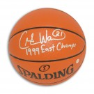 "Charlie Ward New York Knicks Autographed Indoor / Outdoor Basketball Inscribed ""1999 East Champs"""