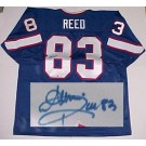 Andre Reed Buffalo Bills NFL Autographed Throwback Jersey