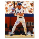"Wally Backman Autographed New York Mets 16"" x 20"" Photograph Inscribed with ""'86 WS Champs"" (Unframed)"