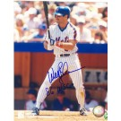 "Wally Backman Autographed New York Mets 8"" x 10"" Photograph Inscribed with ""'86 WSC"" (Unframed)"