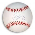Carlos Baerga Autographed MLB Baseball
