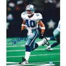 "Bill Bates Autographed ""Running"" Dallas Cowboys 8"" x 10"" Photo"