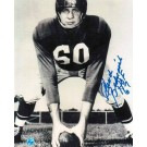 "Chuck Bednarik Black and White Autographed 8"" x 10"" Unframed Photograph Inscribed with ""HOF 67"""