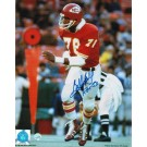 "Bobby Bell Kansas City Chiefs Autographed 8"" x 10"" Running Photograph Inscribed with ""HOF 83"" (Unframed)"