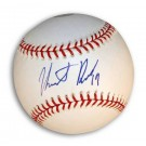Heath Bell Autographed MLB Baseball by