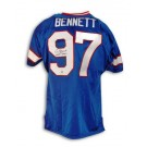 """Cornelius Bennett Autographed Buffalo Bills Throwback Jersey Inscribed """"4X AFC Champs"""""""
