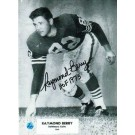 "Raymond Berry Autographed in Black 8"" x 10"" Unframed Photograph Inscribed with ""HOF 73"""