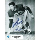 "Raymond Berry Autographed in Blue 8"" x 10"" Unframed Photograph Inscribed with ""HOF 73"""