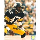 """Mel Blount Autographed """"Stance"""" Pittsburgh Steelers 16"""" x 20"""" Photo"""