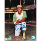 "Vida Blue Autographed ""On One Knee"" Oakland Athletics 8"" x 10"" Photo"