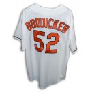 "Mike Boddicker Autographed Baltimore Orioles Majestic White Jersey with ""83 ALCS MVP"" Inscription"