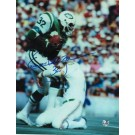 "Emerson Boozer Autographed ""Vs Dolphins"" New York Jets 8"" x 10"" Photo"