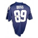 Kevin Boss New York Giants Autographed Authentic Reebok NFL Football Jersey Inscribed... by
