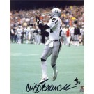 "Cliff Branch Autographed Oakland Raiders 8"" x 10"" Photograph (Unframed)"