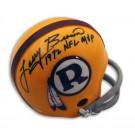 "Larry Brown Autographed Washington Redskins Mini Helmet Inscribed ""1972 NFL MVP"""