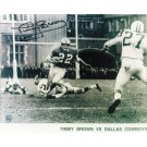 """Timmy Brown Philadelphia Eagles Autographed in Black 8"""" x 10"""" Unframed Photograph"""
