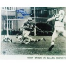 """Timmy Brown Philadelphia Eagles Autographed in Blue 8"""" x 10"""" Unframed Photograph"""