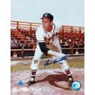 "Lew Burdette Autographed ""Follow Through"" Milwaukee Braves 8"" x 10"" Photo"