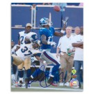 "Plaxico Burress Autographed New York Giants 8"" x 10"" Photograph (Unframed)"