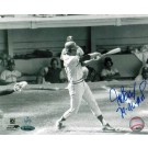 "Jeff Burroughs Texas Rangers Autographed 8"" x 10"" Unframed Photograph Inscribed with ""74-AL-MVP"""
