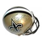Reggie Bush Autographed New Orleans Saints Pro Line Full Size Football Helmet by