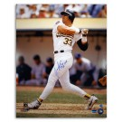 """Jose Canseco Oakland Athletics Autographed 16"""" x 20"""" Photograph Inscribed with """"40/40"""" and """"88 MVP"""" (Unframed)"""