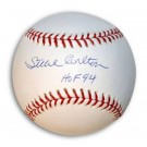 "Steve Carlton Autographed Baseball Inscribed ""HOF 94"" by"