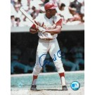 "Orlando Cepeda Autographed ""At The Plate"" St. Louis Cardinals 8"" x 10"" Photo"