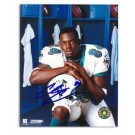 "Chris Chambers Autographed Miami Dolphins 8"" x 10"" Photograph (Unframed)"