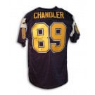 "Wes Chandler San Diego Chargers Autographed Throwback Jersey Inscribed with ""Pro Bowl... by"