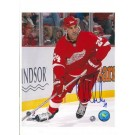 "Chris Chelios Detroit Red Wings Autographed 8"" x 10"" Photograph with ""24"" Inscription (Unframed)"