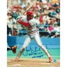 """Jack Clark Autographed """"Batting Stance"""" St. Louis Cardinals 8"""" x 10"""" Photo Inscribed """"85-87 NL Champs"""""""